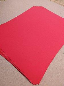 Papel Color Plus - Vermelho Vivo - valor por unidade