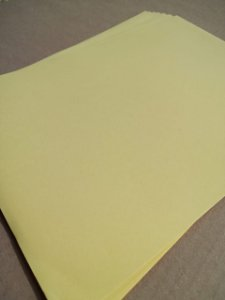 Papel Color Plus - Amarelo Vivo - valor por unidade