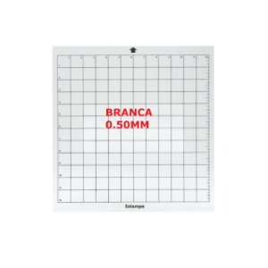 Base Silhouette Cameo 30x30 BRANCA 0.50MM
