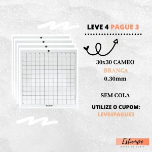 LEVE 4 PAGUE 3 30x30 CAMEO SEM COLA BRANCA 0.30
