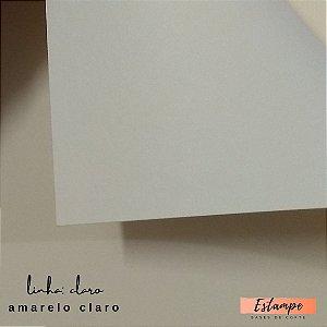 Color Plus – A4 -  Linha: Claro - Amarelo Claro - 9 FOLHAS – 180g