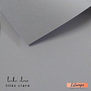 Color Plus – A4 -  Linha: Claro - Lilás Claro - 9 FOLHAS – 180g