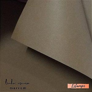 Color Plus – A4 -  Linha: Escuro - Marrom - 9 FOLHAS – 180g