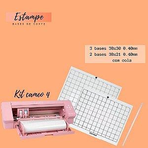 Kit Cameo 4 - 3 30x30; 2 30x21 + 1 fita BRINDE (0.40 com cola) TRANSPARENTE