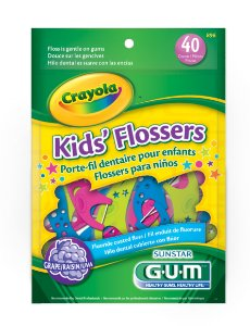 Flosser Crayola 40 unidades