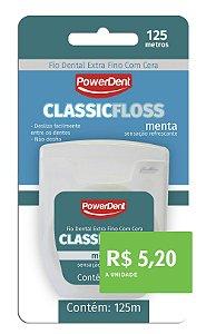 Fio Dental PowerClass Extra Fino 125m (pacote com 12 unidades)