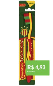 Escova Dental Torcedor Sampaio Corrêa (pacote 12 unidades)