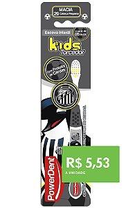 Escova Dental Kids Torcedor Santos (pacote 12 unidades)