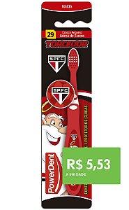 Escova Dental Kids Torcedor São Paulo (pacote 12 unidades)