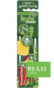 Escova Dental Kids Torcedor Palmeiras (pacote 12 unidades)