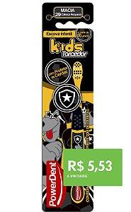 Escova Dental Kids Torcedor Botafogo (pacote 12 unidades)