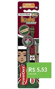 Escova Dental Kids Torcedor Fluminense (pacote 12 unidades)