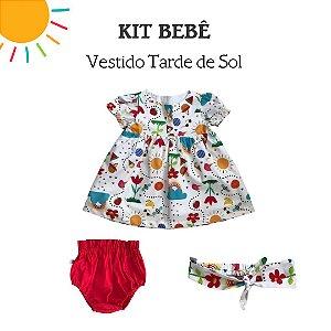 Adoro Kit Tarde de Sol Vestido