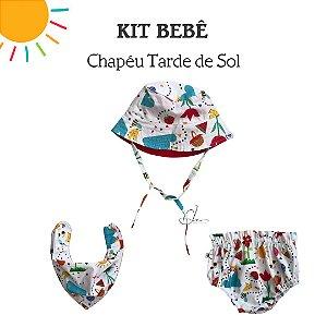 Adoro Kit Tarde de Sol Chapéu