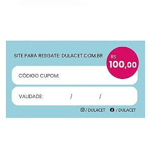 CARTÃO PRESENTE 100
