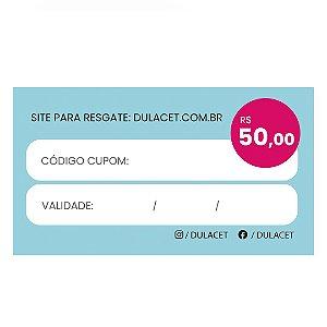 CARTÃO PRESENTE 50