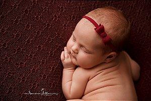 Faixa de Cabelo de Bebê Laço Feltro