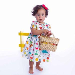 Vestido de Bebê Tarde de sol