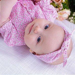 Tiara turbante Bebê Jardim