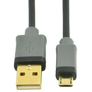 Cabo Micro-USB-B para USB-A,  High Speed – 1,8 m