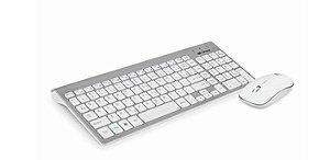 Kit Teclado + Mouse Sem Fio K-W510SWH C3T