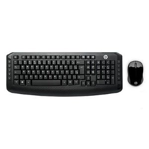 Kit Teclado + Mouse Sem Fio 300 3ML04AA#AC4 HP