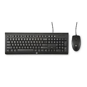 Kit Teclado e Mouse USB C2500 J8F15AA#AC4 HP