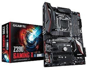 Motherboard Para Intel, LGA1151 9ª Geração, CHIPSET Z390 X, DDR4, PCI-E