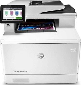 Impressora Multifuncional HP Laserjet Pro Color M479fdw - W1A80A#AC4