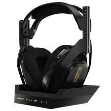 FONE C/MIC GAME S/FIO ASTRO A50 + BASE P/XB1