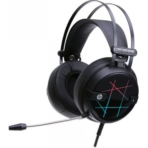 HEADSET GAMER STEREO USB H160G LED HP
