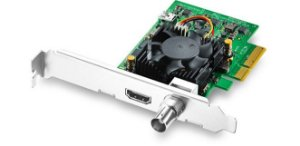 BLACKMAGIC DESIGN DECKLINK MINI MONITOR 4K PCLE PLAYBACK CARD, 6G-SDI (IMPORTADO)