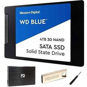 Fantom Drives WD BLUE 4TB Internal SSD - W4000SSD-KIT