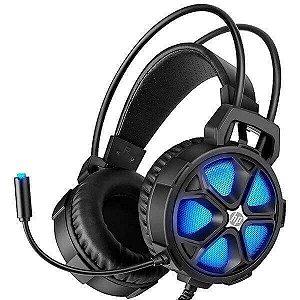 FONE COM MICROFONE GAME STEREO 2 P2+USB H400 PTO HP