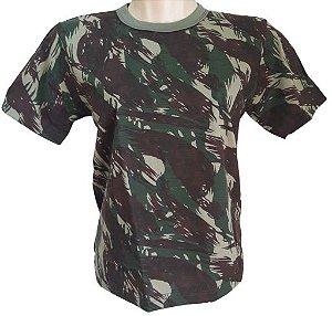 Camiseta Camuflada Dry Fit Infantil