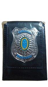 Carteira EB Escudo Prateado Brasão
