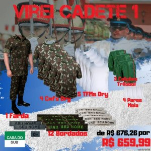 Kit Virei Cadete 1