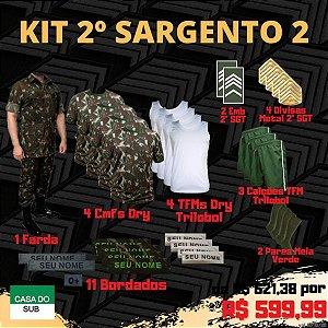 Kit 2º Sargento 2