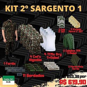 Kit 2º Sargento 1