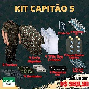 Kit Capitão 5