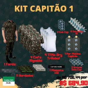 Kit Capitão 1