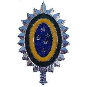 Metal EB Distintivo de Boina Brasão EB