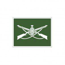 Emborrachado EB Kit 3 Distintivos Emborrachados EB Infantaria