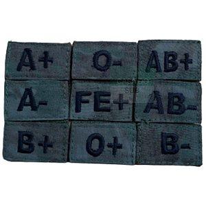Bordado EB Sutache Bordado Tipo Sanguineo Alta Solidez (unidade)