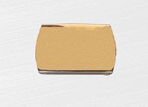 Fivela de Metal Banho Ouro
