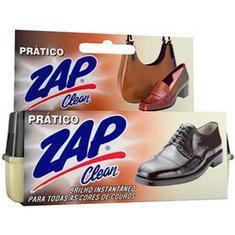 Graxa Líquida Brilho Para Calçados Prático Zap Clean