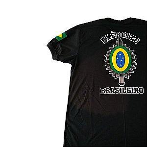 Camiseta Estampada Exército Brasileiro Brasão