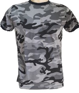 Camiseta Camuflada Urbano