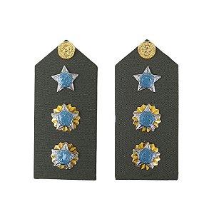 Platina EB Tenente Coronel (o par)