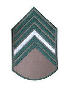 Bordado EB Divisa da Camisa Bege 1 Sargento